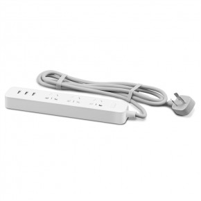 Xiaomi Mi Power Strip 3 Sockets/3 USB White