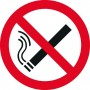 Наклейка 100 мм (Курение запрещено двухсторонняя)