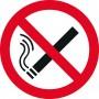 Наклейка 150 мм (Курение запрещено двухсторонняя)